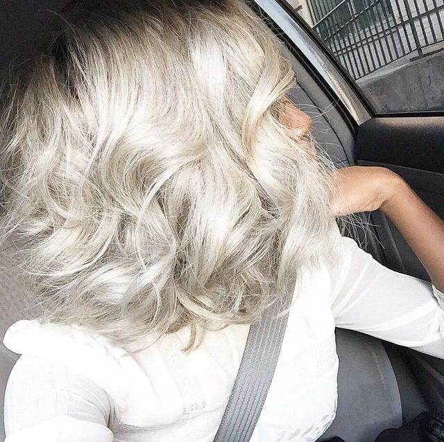 fabulous silver hair