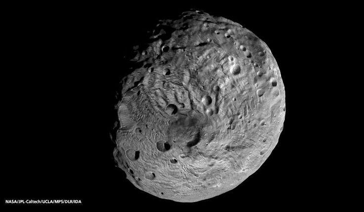 Vesta asteroid