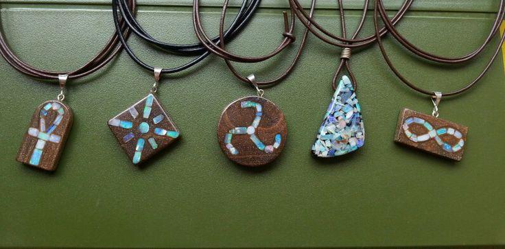 Natural opal australia inlays and mosaic chips