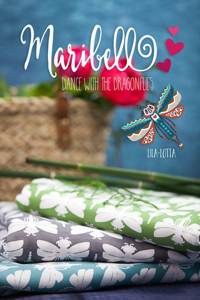 Maribell Jersey cyan - hide-and-seek dress   tunica von Oliver   S