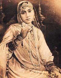 Maharani Jindan, wife of Maharaja Ranjit Singh 1817 - 1863