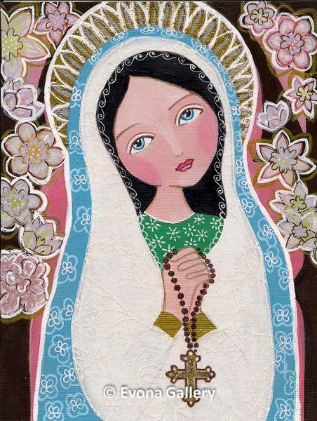Virgen María.-