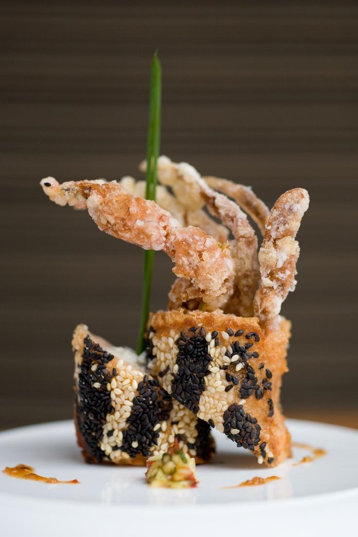 Kai Mayfair - Michelin Star Chinese Restaurant in London  King Prawns on Toast