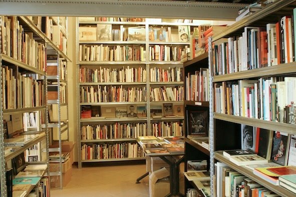 MiCamera bookstore in Milan, Italy only carries books and artifacts related to photography.