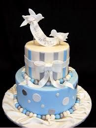 tortas de bautizo para varon - Buscar con Google