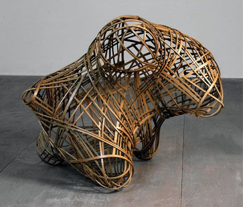 Bent Wood Objects By Matthias Pliessnig