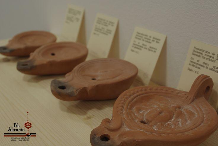 Lucernas romanas de cerámica / Roman oil lamps