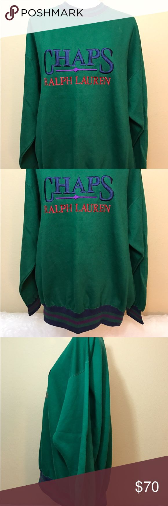 Vintage 90s Chaps Ralph Lauren sweatshirt Great condition Ralph Lauren Jackets & Coats