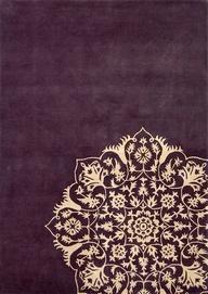 Rangoli-inspired rug