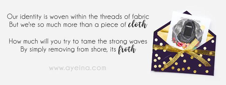niqab poetry - ayeina