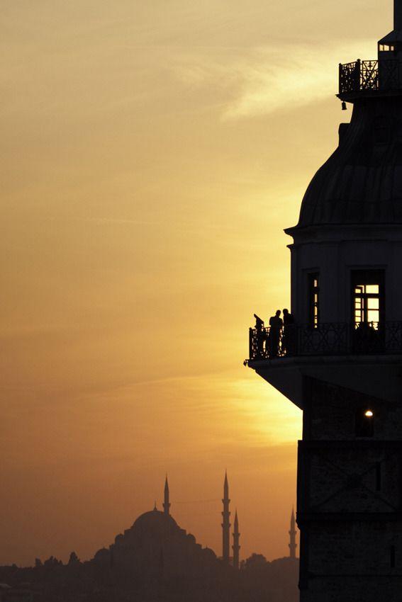 Maiden's Tower (Kız Kulesi), Istanbul, Turkey