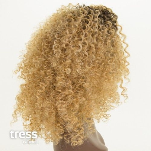 Peruca Lace Front Wig - TAÍS - fibra sintética