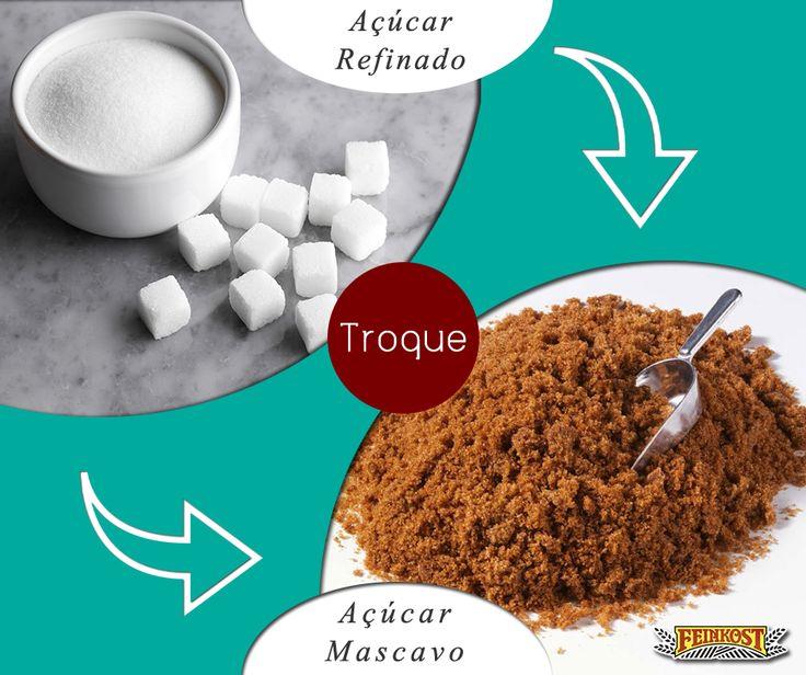 Para o açúcar ficar com aquela coloração branca, o alimento precisa passar por diversos processos químicos e refinamento. Várias vitaminas são perdidas, restando apenas o carboidrato. Já o açúcar mascavo mantém todos os nutrientes: proteínas, cálcio, fósforo, ferro, vitaminas B1, B2, C e outros.