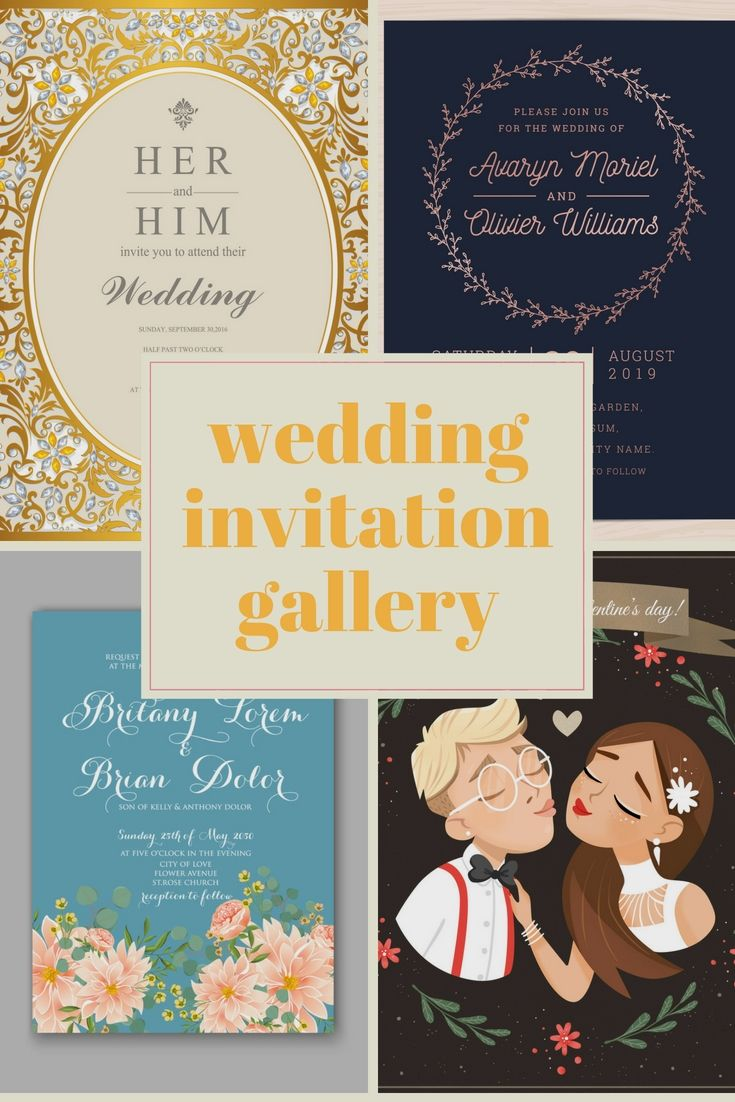 High Quality Wedding Invitation Cards Format Online For Your