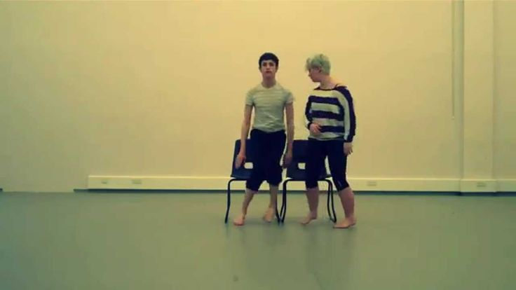 Following on from Cameron's lovelong pin... I'd love to explore that idea of love/ longing and touch. This choreography is elegant
