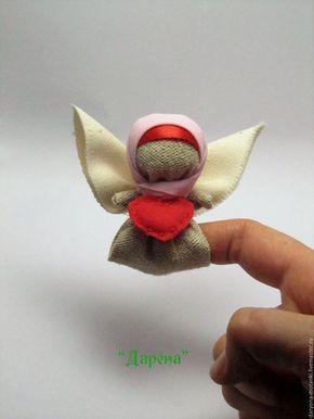 """Народные куклы ручной работы. Ярмарка Мастеров - ручная работа. Купить Кукла-мотанка """"Ангел"""". Handmade. Разноцветный, подарок, дружба"""