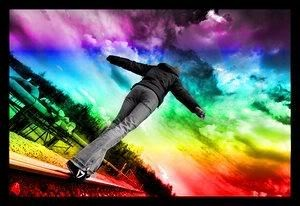 :): Black White Photo, Walks Images, Rainbows Connection, Images Pictures, True Color, Rainbows Clouds, Rainbows Walks, Color Heavens, Watches