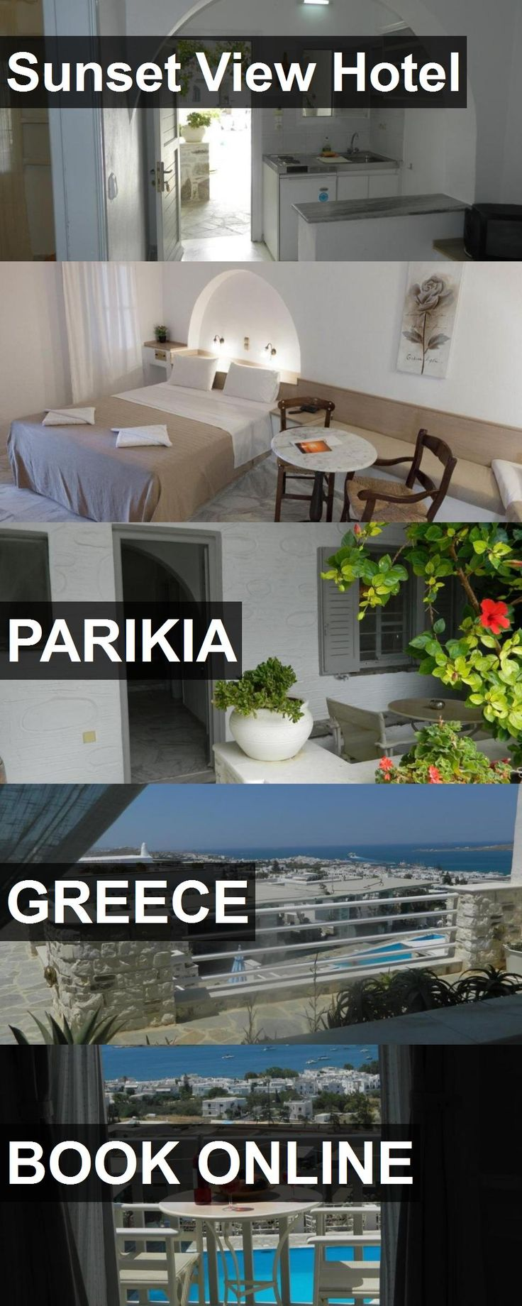 Hotel Sunset View Hotel in Parikia, Greece. For more information, photos, reviews and best prices please follow the link. #Greece #Parikia #SunsetViewHotel #hotel #travel #vacation