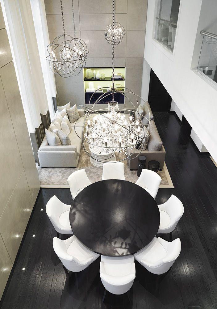 Kelly Hoppen. London - #moderndesign #interiordesign #diningroomdesign luxury homes, modern interior design, interior design inspiration . Visitwww.memoir.pt