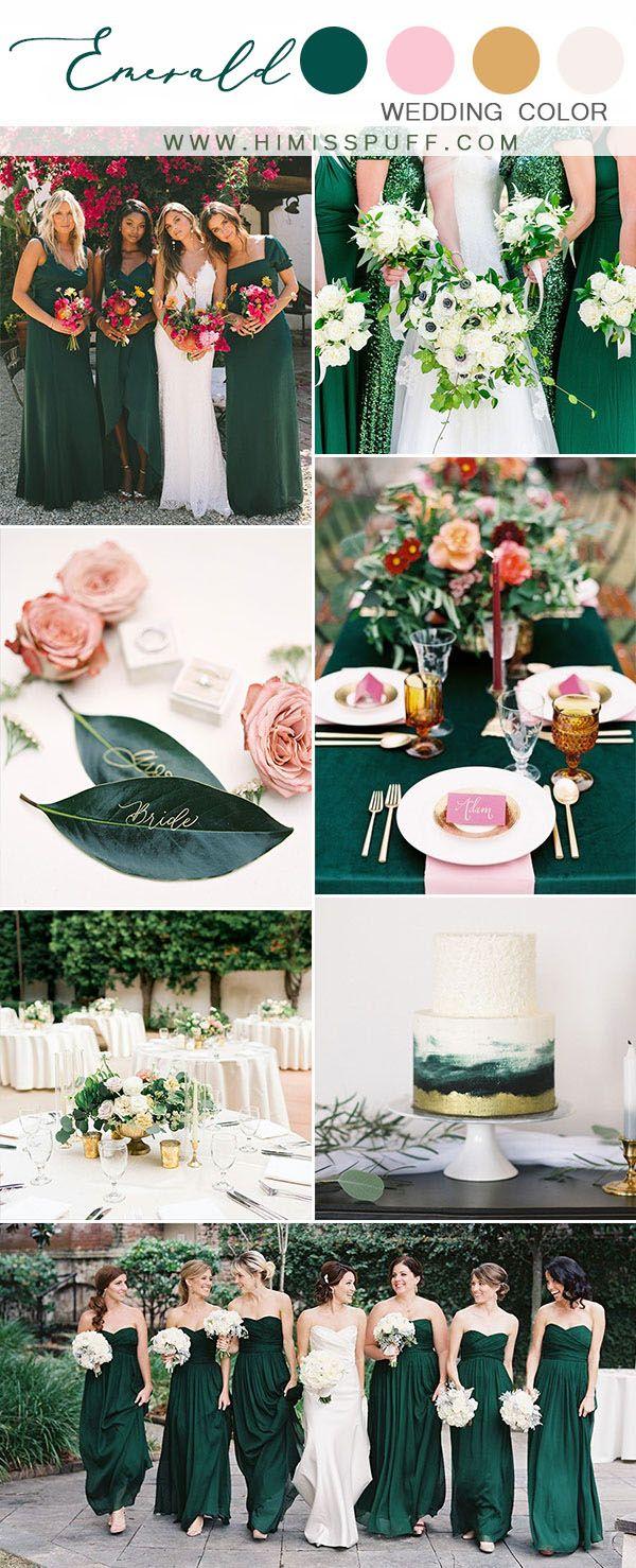 Top 10 Wedding Color Scheme Ideas For 2020 Hunter Green Wedding