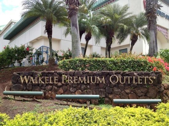 Waikele Premium Outlets:   94-790 Lumiaina Street Waipahu, HI 96797 (808) 676-5656