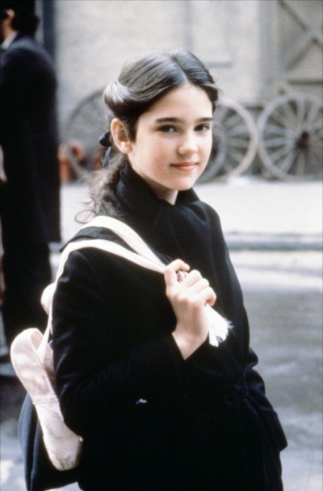 """Jennifer Connelly dans """"Il était une fois en Amérique""""(1984) à l'âge de 14 ans."""