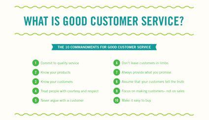 what is good customer service training good customer