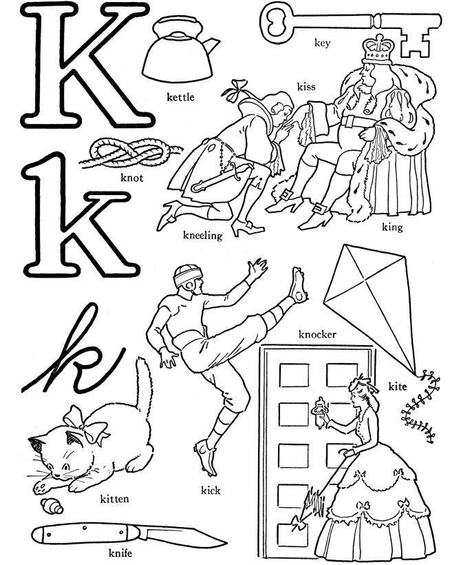 Best Letter K Images On   Alphabet Crafts Abc Crafts