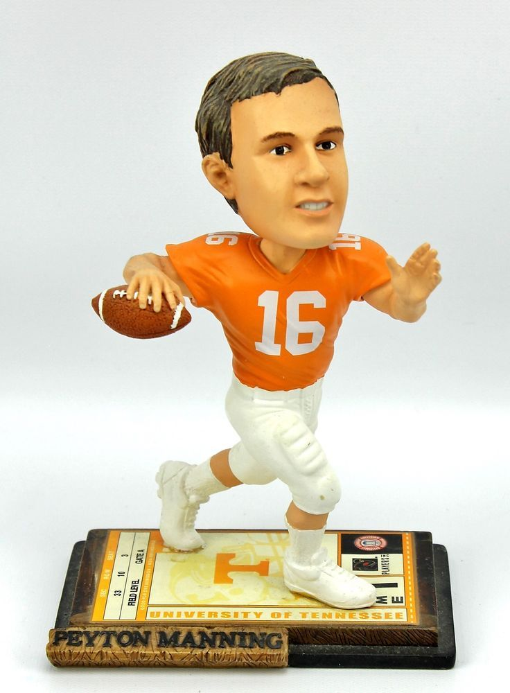 Peyton Manning #16 TENNESSEE VOLS Legends of The Field Bobblehead 162 of 5004  #weboys10