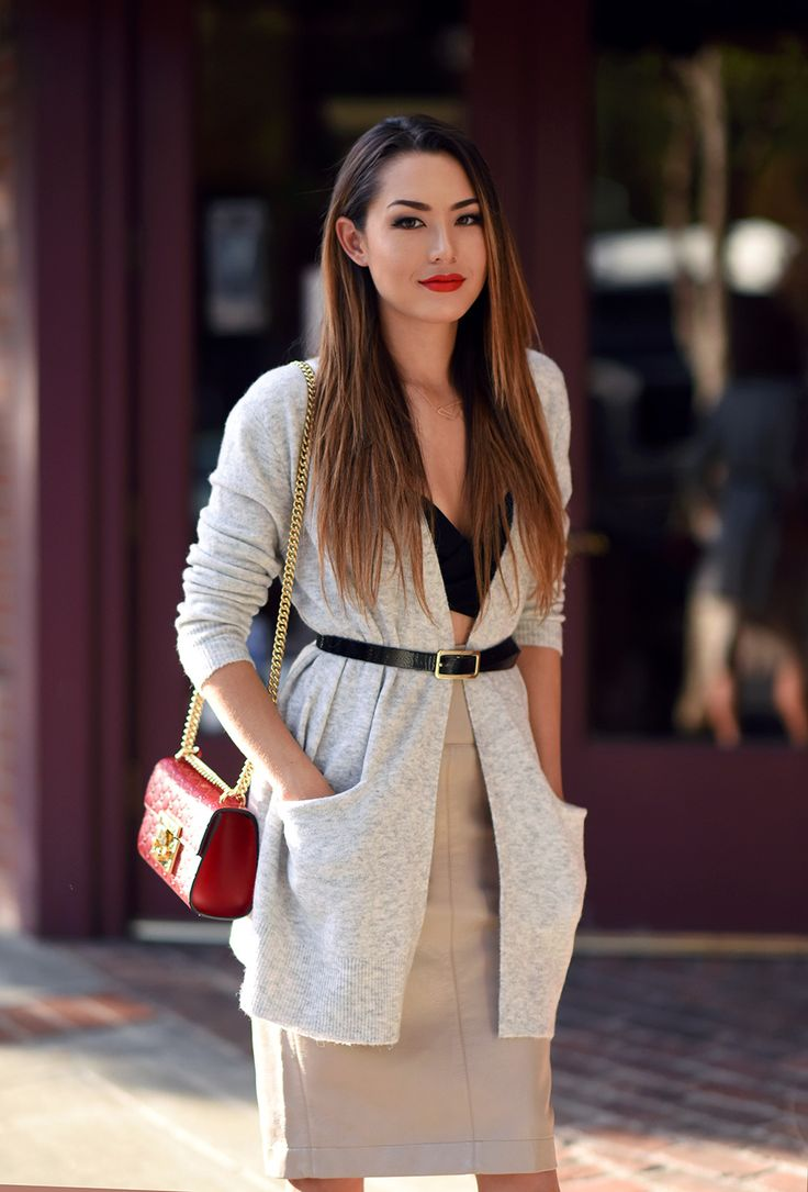 How to Style a Cardigan Two Ways - Hapa Time