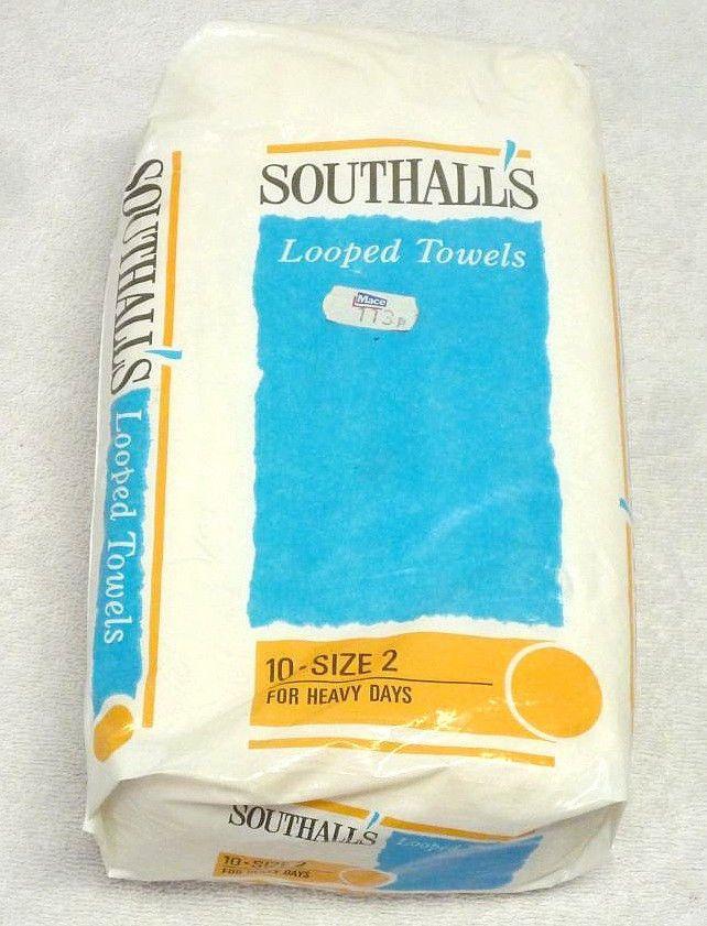 SOUTHALL'S LOOPED TOWELS SANITARY NAPKINS SIZE 2 HEAVY DAYS FEMININE HYGIENE