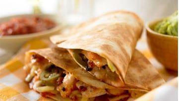 Hühnchen-Käse-Quesadillas mit Tomatensalsa - Old El Paso - Schwiez