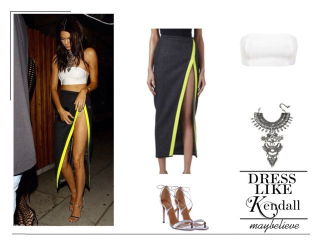 Kendall Jenner #8 by maybelieve on Polyvore featuring moda, Aquazzura and DYLANLEX