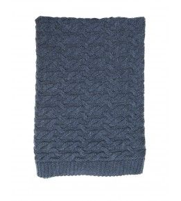 Babu Isaac Cable Blanket
