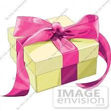 Image result for clip art gifts with ribbons