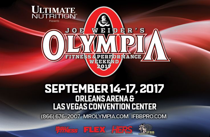 Win a VIP trip to the Olympia Weekend on Muscle & Fitness - Mr. Olympia Sweepstakes