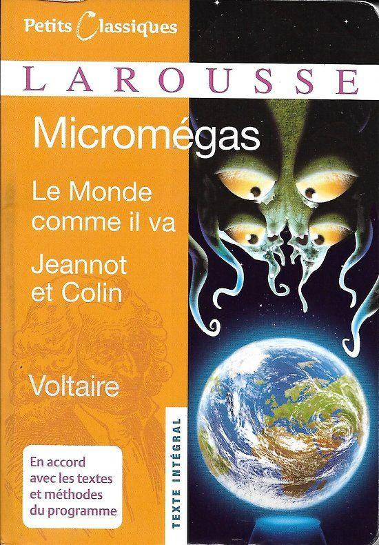Micromegas Le Monde Comme Il Va Jeannot Et Colin Voltaire Excellent Etat Livre Poche Conte Philosophique Science Fiction Et Fiction