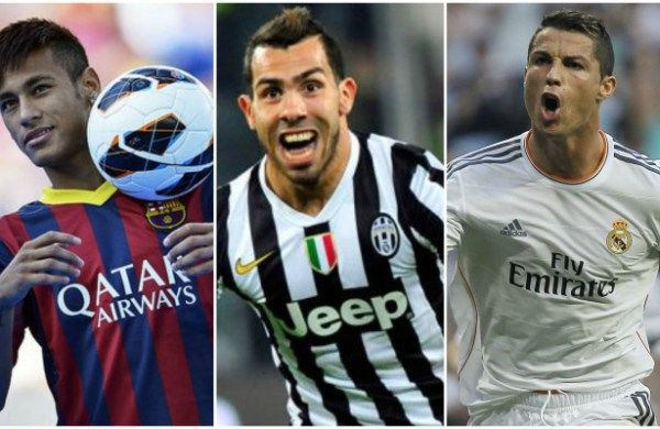 Its the birthday of soccer stars Cristiano Ronaldo Neymar and Tevez   Neymar Tevez Ronaldo celebrate their birthdays today. Photo: Torcedores  Three of the worlds finest attackers Cristiano Ronaldo Neymar and Tevez share birthdays today February 5 2016. Portuguese international and Real Madrid attacker Cristiano Ronaldo turns 31. Hesone of the fiveplayers whove won three or more Ballon dOr/FIFA World Player of the Year award which include Johan Cruyff Michel Platini Marco van Basten and…