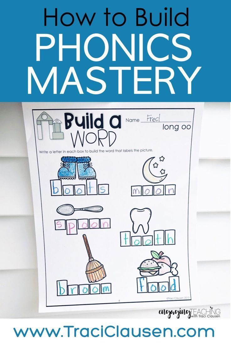 Daily Detailed Plan To Build Phonics