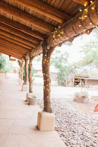 Tanque Verde Guest Ranch Wedding Venue Wedding lights Marie Cameron Photography