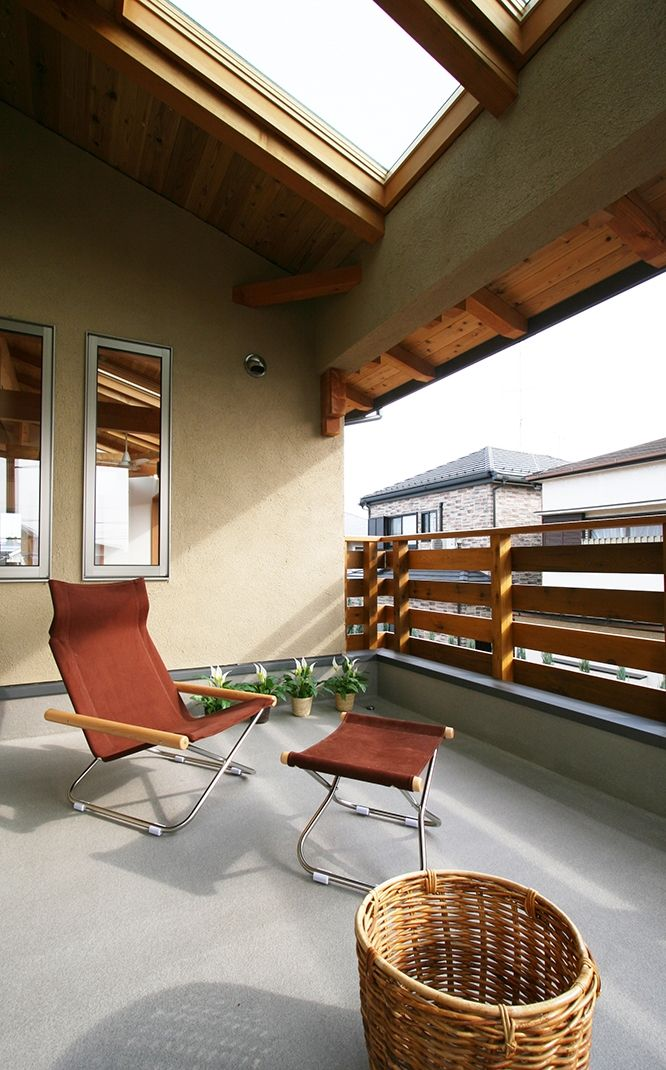 建築家:遠藤 浩「南側全て吹抜の家」