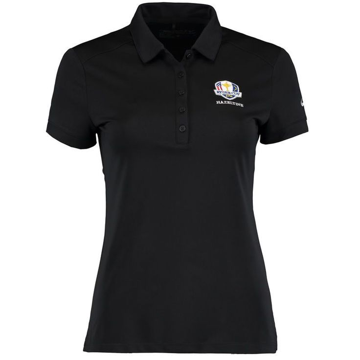 2016 Ryder Cup Nike Golf Women's Victory Solid Performance Polo - Black