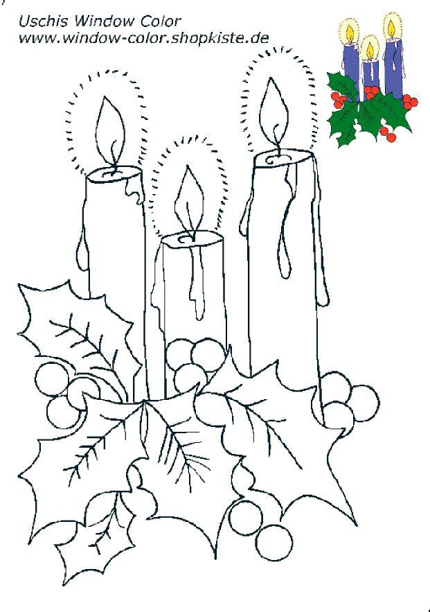 weihnachtenvorlagen 2  fensterbilder weihnachten basteln