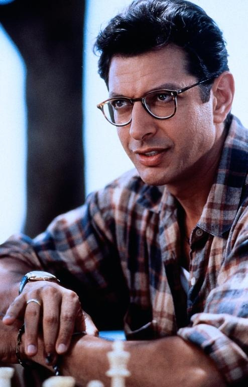 Jeff Goldblum, in Independence Day