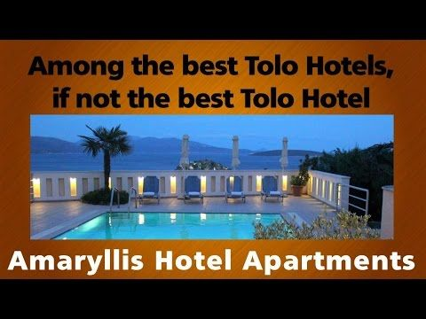 Among the best Tolo Hotels, if not the best Tolo Hotel  - Amaryllis Hote...