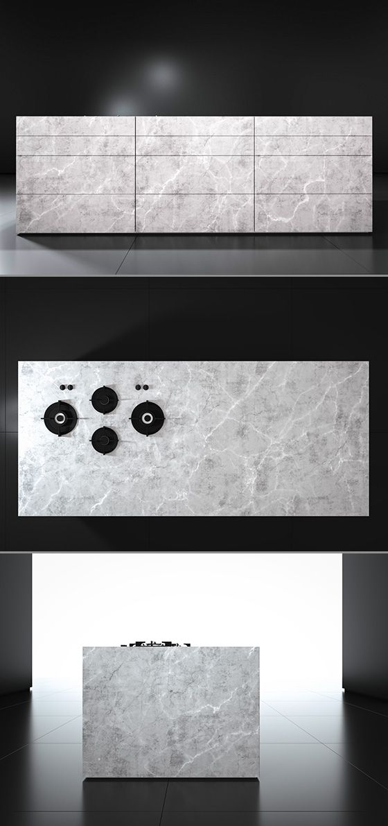 Monolith Kitchen From Piqu A Contemporary Stone Island