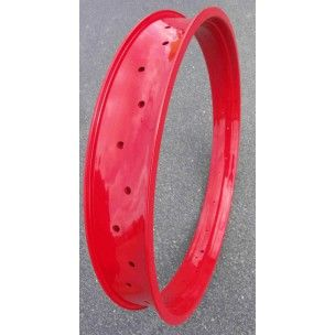 """Jante Alu Rouge 26"""" 36 Rayons 80mm"""