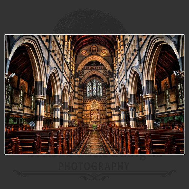 Inside St. Paul's Cathedral, Melbourne, Australia  https://www.facebook.com/HannaDesignsPhotography  © 2012 - HANNAdesigns Photography - All rights reserved