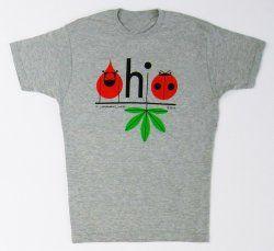 Charley Harper Ohio t shirt