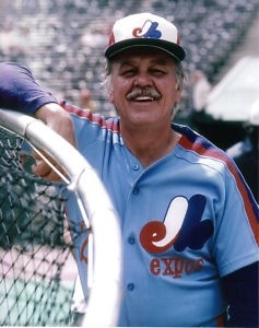 Dick Williams - Montreal Expos manager